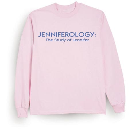Personalized Ladies-Ology Shirt