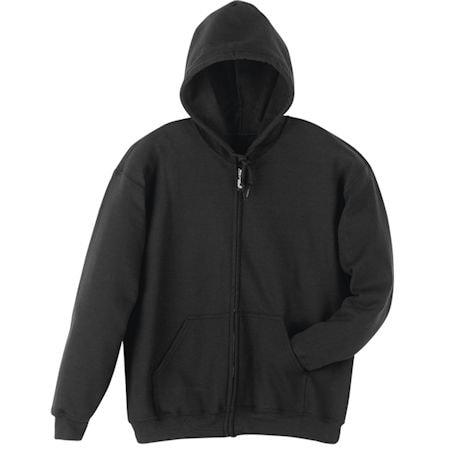 Black Fleece Full Zip Hoodie