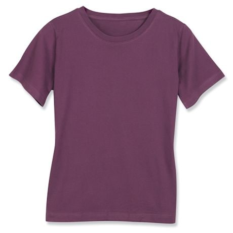 Eggplant Ladies T-Shirt