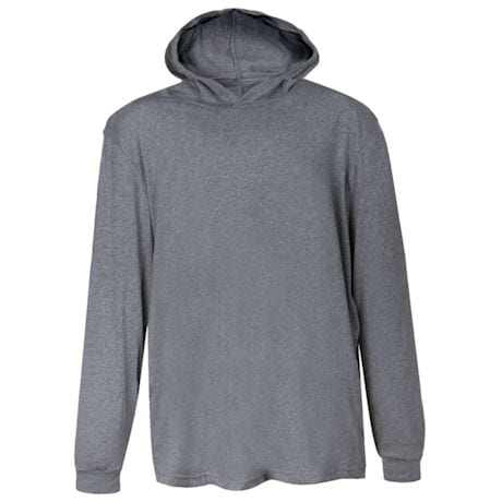 Heather Hooded T-Shirt