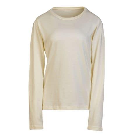 Natural Ladies Long Sleeve T-Shirt