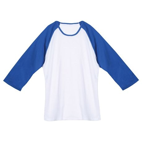 Royal And White Junior T-Shirt