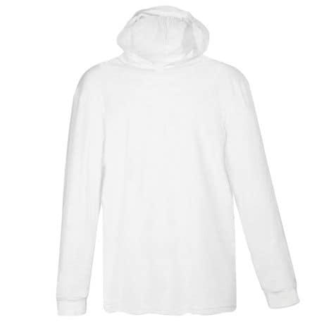 White Hooded T-Shirt