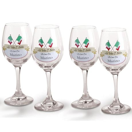Personalized La Vita Glasses