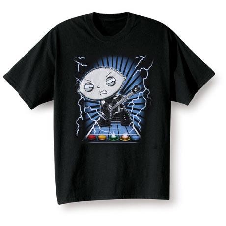 Stewie Guitar T-Shirt