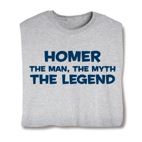 Personalized (Your Choice Of Name Goes Here) The Man, The Myth, The Legend Shirt