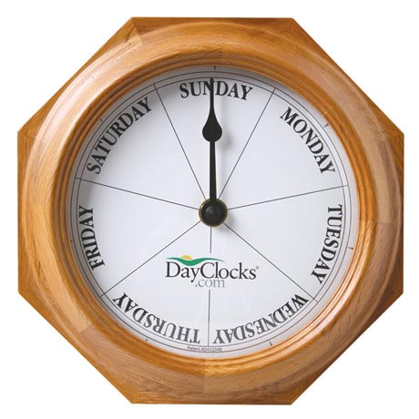 Keep Track Of Days, Not Time Clock - Oak