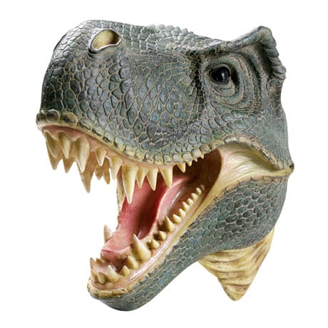 Head Turning 3D Wall Plaque - TRex