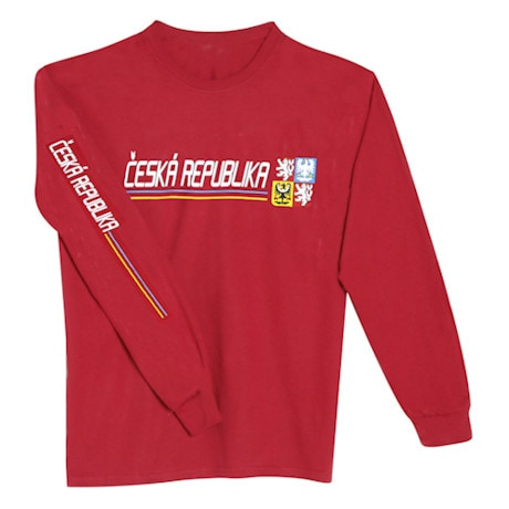 International Pride Long Sleeve Shirt - Ceska Republika