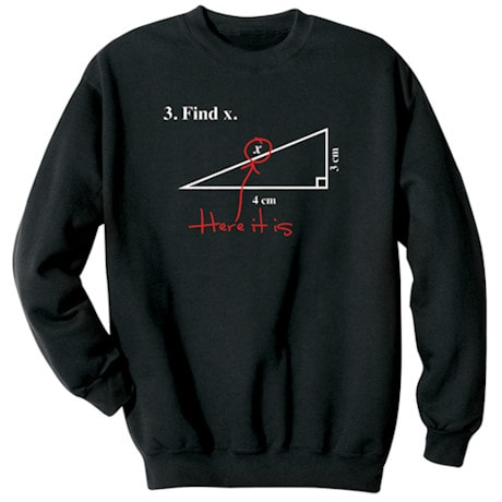 Find X Math Shirt