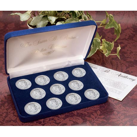 Complete Susan B. Anthony Dollar Collection In Brilliant Uncirculated Condition