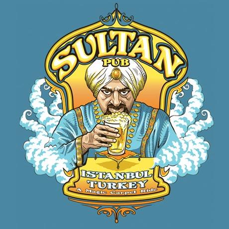 Sultan Pub Istanbul Turkey Shirt