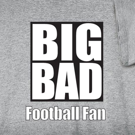 Personalized Big Bad [Your Choice Of Words] Shirt
