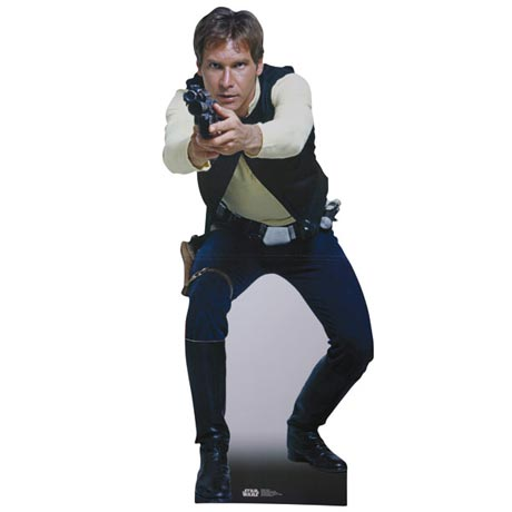Life-Size Cardboard Movie Standup - Han Solo
