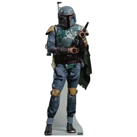 Life-Size Cardboard Movie Standup - Star Wars Boba Fett