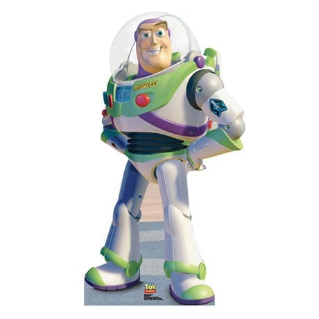 Life-Size Cardboard Movie Standup - Toy Story Buzz Lightyear