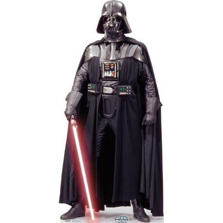 Life-Size Cardboard Movie Standup - Star Wars Darth Vader