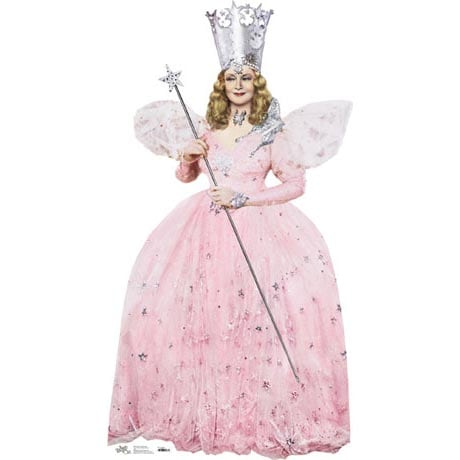 Life-Size Cardboard Movie Standup - Wiz Of Oz Glinda The Good Witch