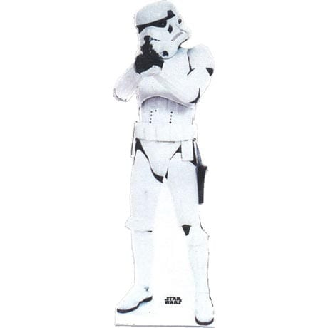 Life-Size Cardboard Movie Standup - Star Wars Stormtrooper