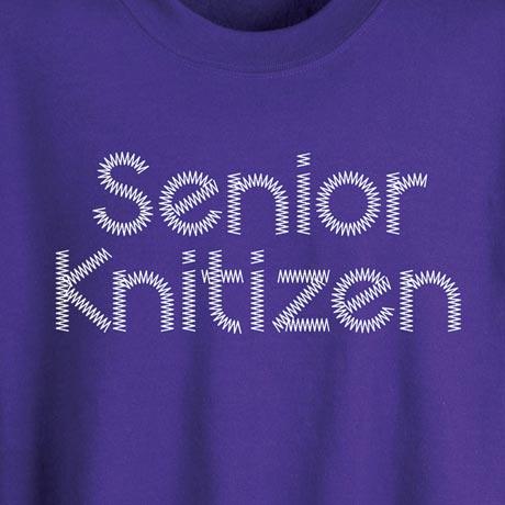 Senior Knitizen Shirt
