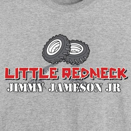Personalized Little Redneck [Name Of Choice] Toddler T-Shirt