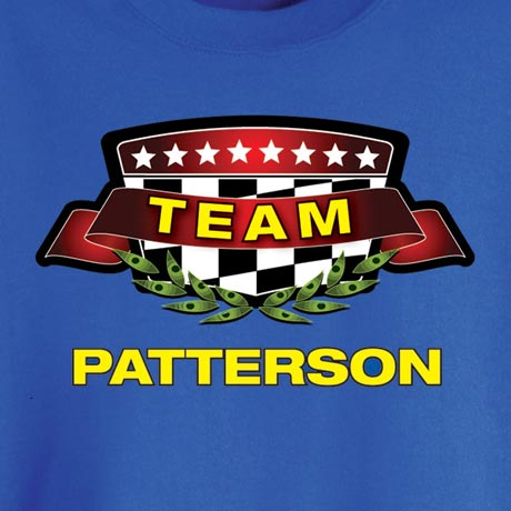 Personalized Team [Name Of Choice] Shirt