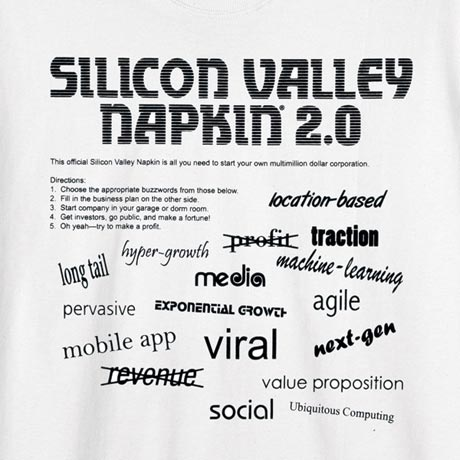 Silicon Valley Napkin® & More - T-Shirt
