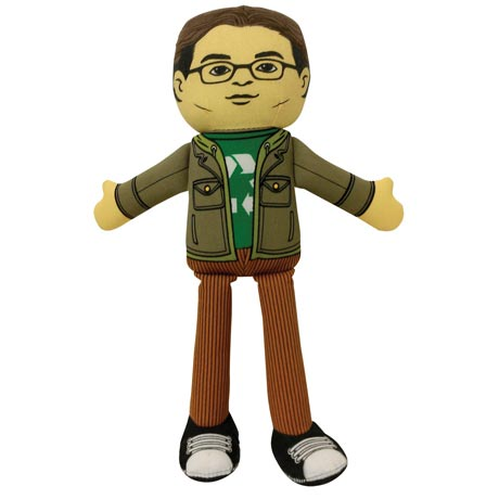 Big Bang Theory Leonard Hofstadter Plush Doll