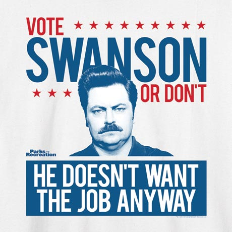 Parks And Recreation - Vote Swanson T-Shirt