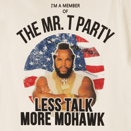 The Mr. T Party T-Shirt
