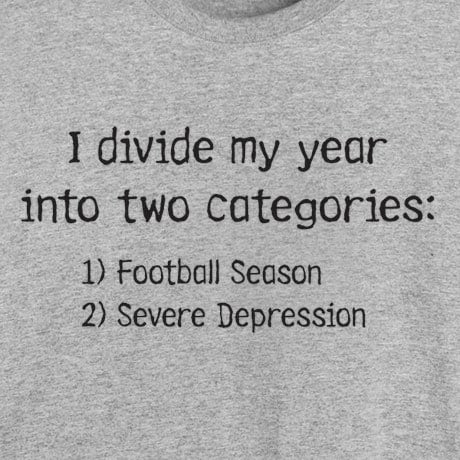 I Divide My Year Shirt