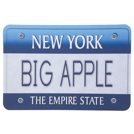 Personalized License Plate Doormat