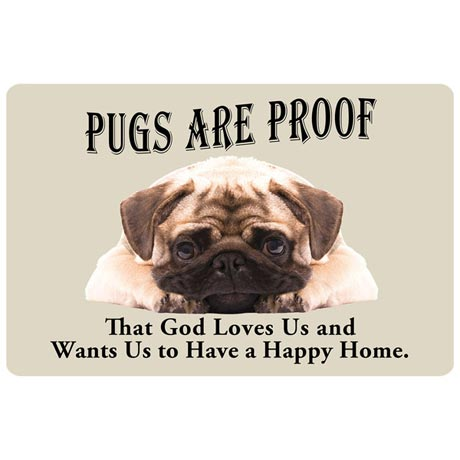 Dog Breed Doormat - Pug