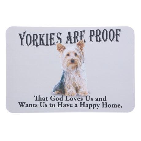 Dog Breed Doormat - Yorkie
