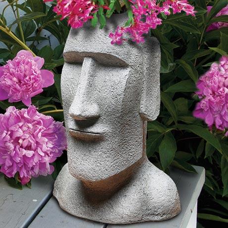 Easter Island Planter