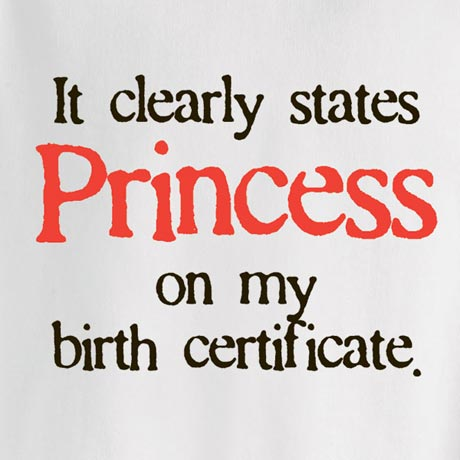 Personalized It States On My Birth Certificate Shirt