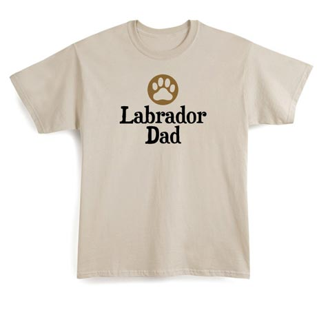 Personalized Pet Relation (Ex: Labrador Dad) Shirt