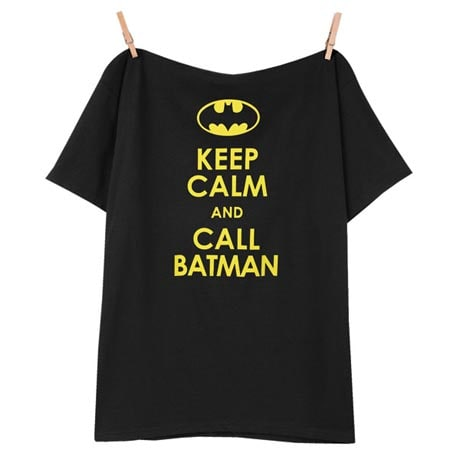 Keep Calm And Call Batman T-Shirt