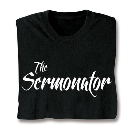 Sermonator Long Sleeve T-Shirt
