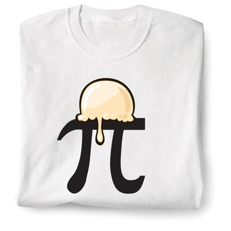 Pi Symbol A'La Mode Shirt