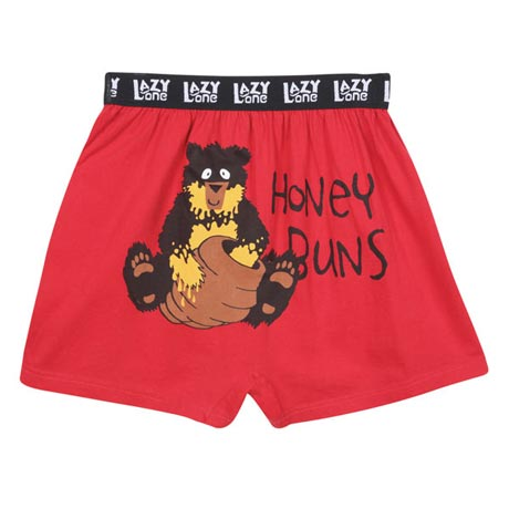Lazy Ones Gift Pack Men's Animal Humor Boxers Set of 3 100% Cotton