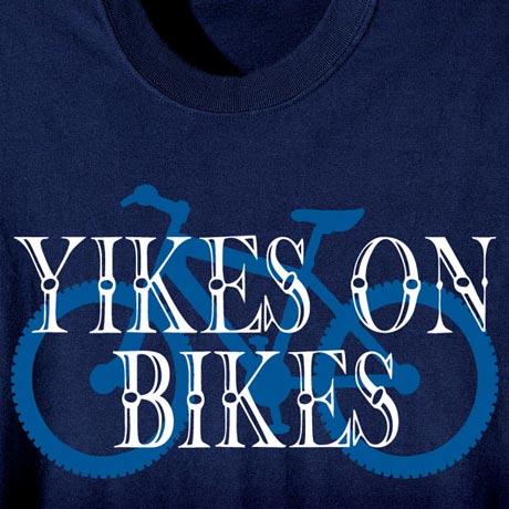 Yikes On Bikes T-Shirt