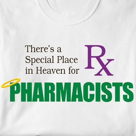 Special Place In Heaven Shirt - Pharmacists