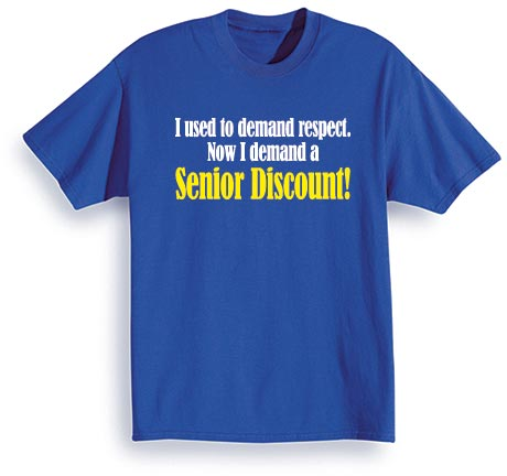 Senior Discount Shirt