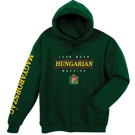 Lean Mean Hungarian Machine Hoodie Sweatshirt - International
