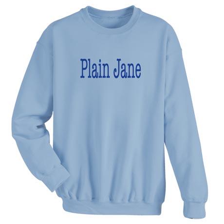 Plain Jane Ladies T-Shirt