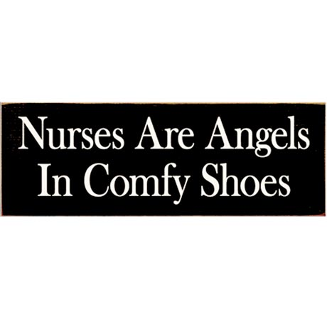 Profession Signs - Nurses Are Angels