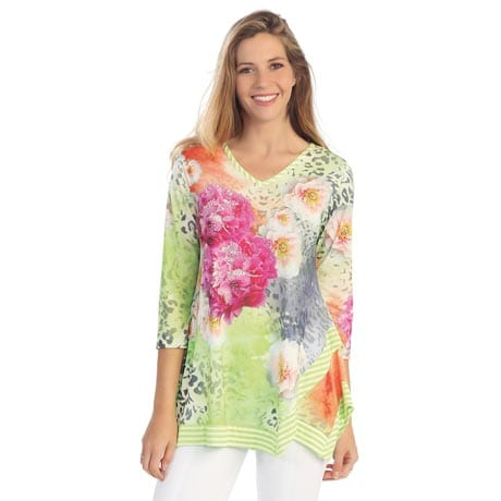 Embellished Garden Walk Tunic