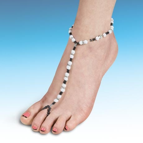 Beads & Magnets Foot Jewelry