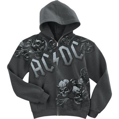 Ac/Dc Night Prowler Zip Hoodie